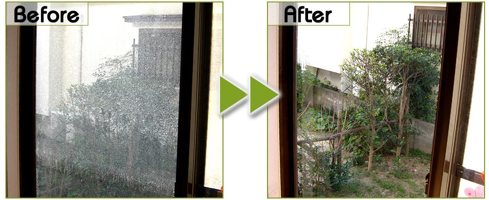 窓ガラス・サッシのお掃除