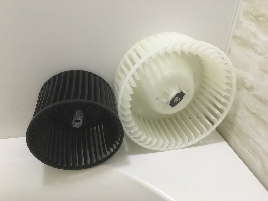 浴室多機能換気扇 分解洗浄