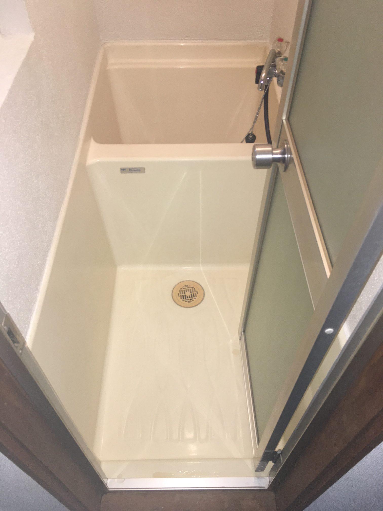 賃貸退居後空部屋清掃 浴室 清掃後