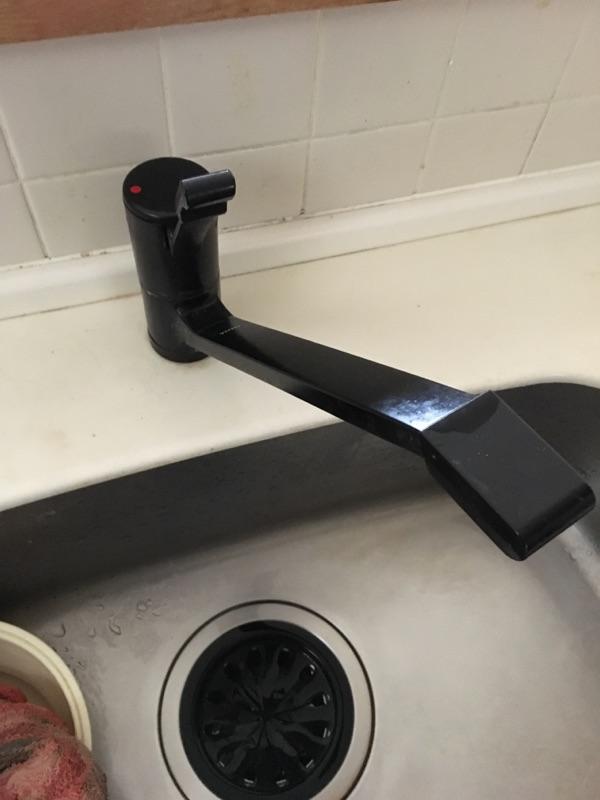 流し台水栓取替 施工前