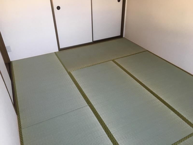 畳表替え 施工後