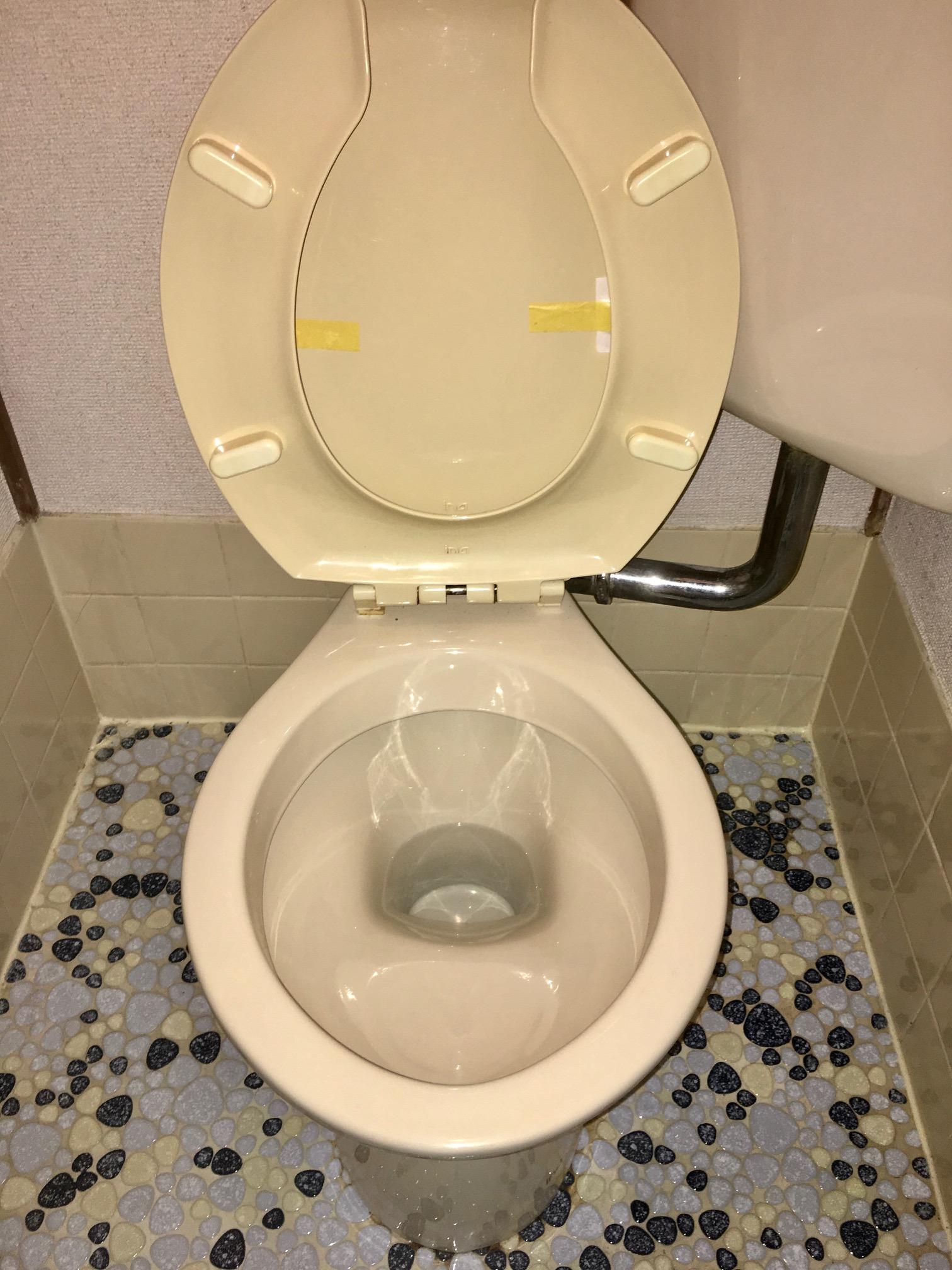 賃貸退居後空部屋清掃 トイレ 清掃後