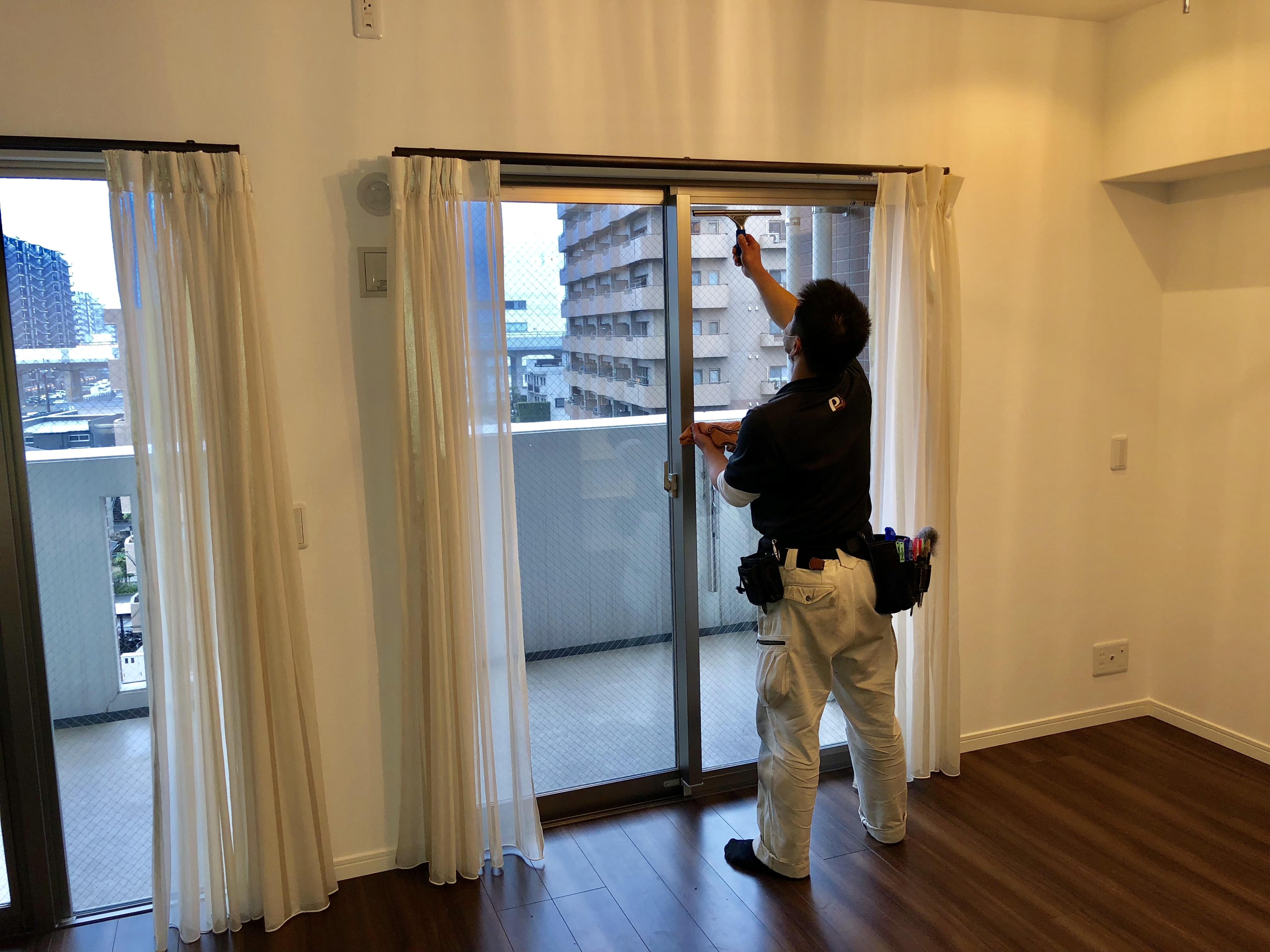 在宅・お家まるごと清掃 窓