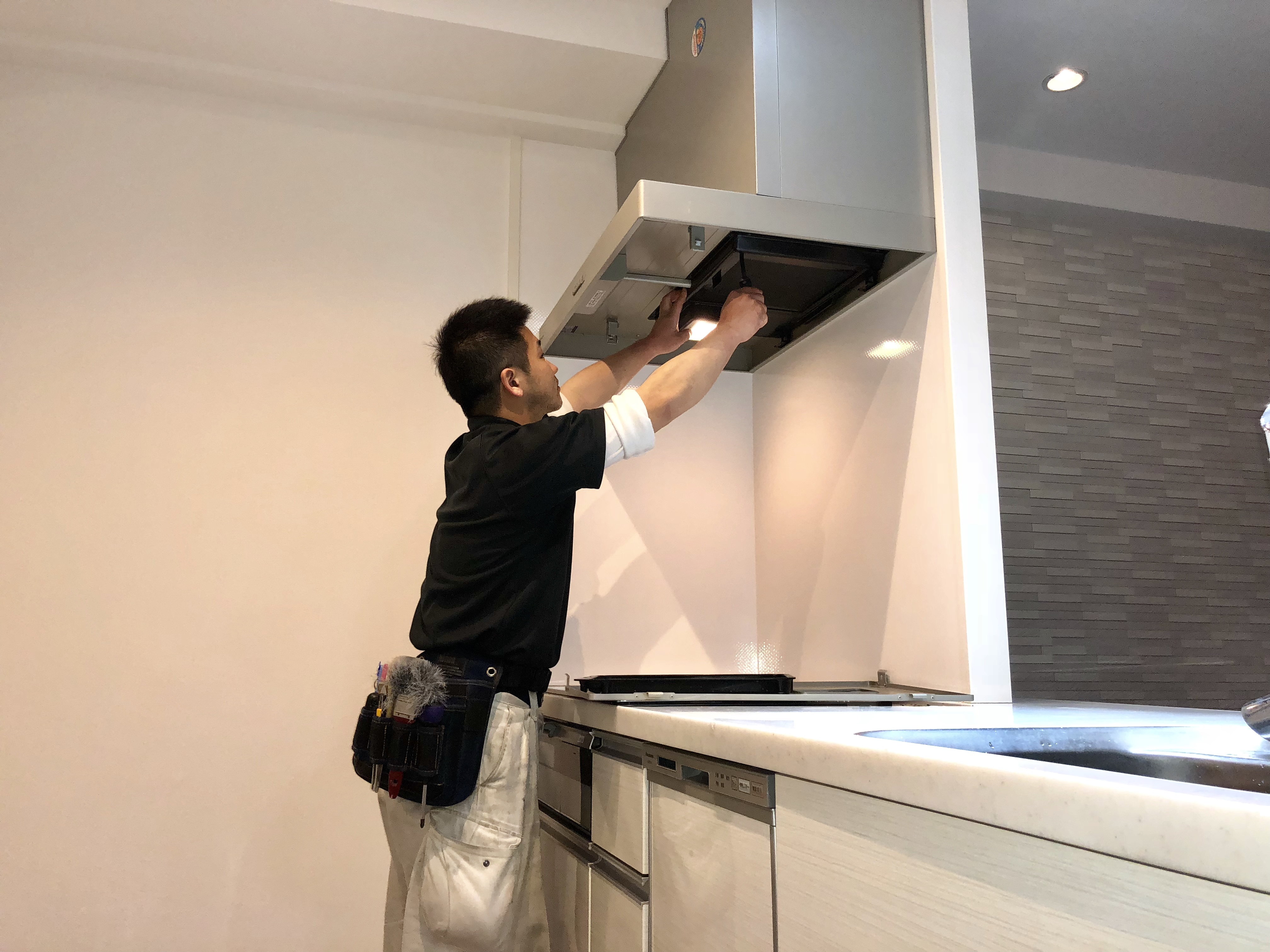 在宅・お家まるごと清掃 キッチン
